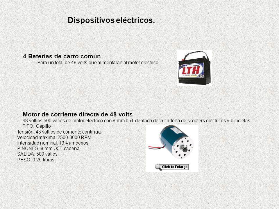 Dispositivos eléctricos.