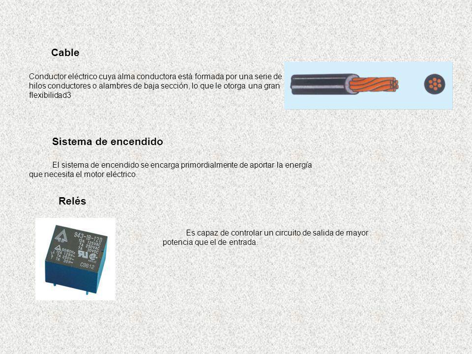 Cable Sistema de encendido Relés