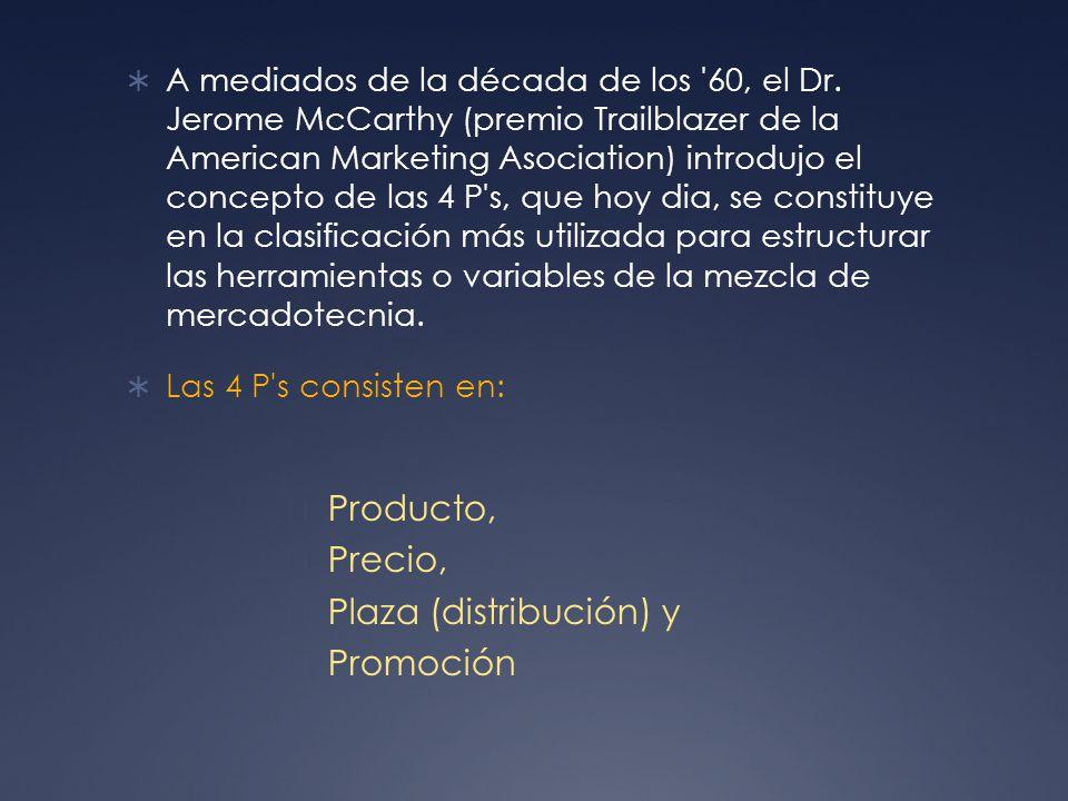 Plaza (distribución) y Promoción