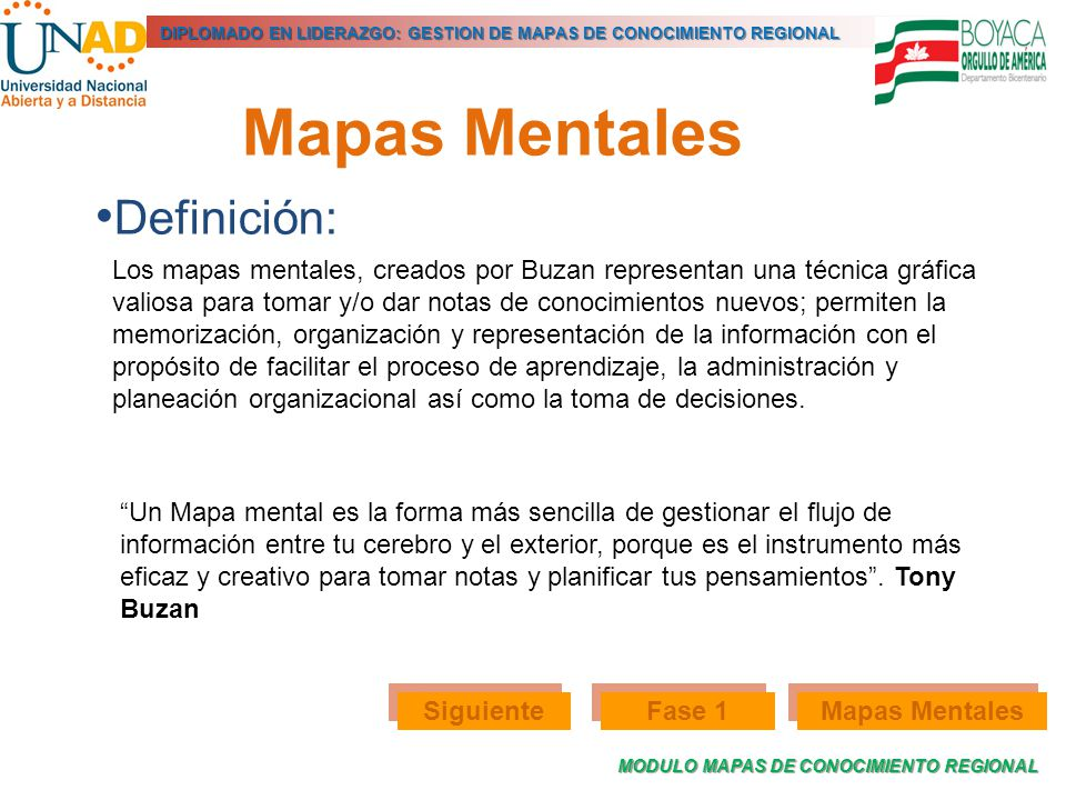 Mapas Mentales Definición: