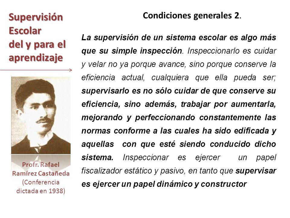 Profr. Rafael Ramírez Castañeda