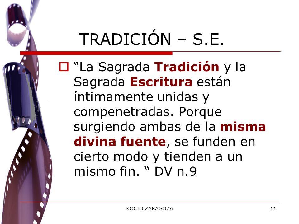 TRADICIÓN – S.E.