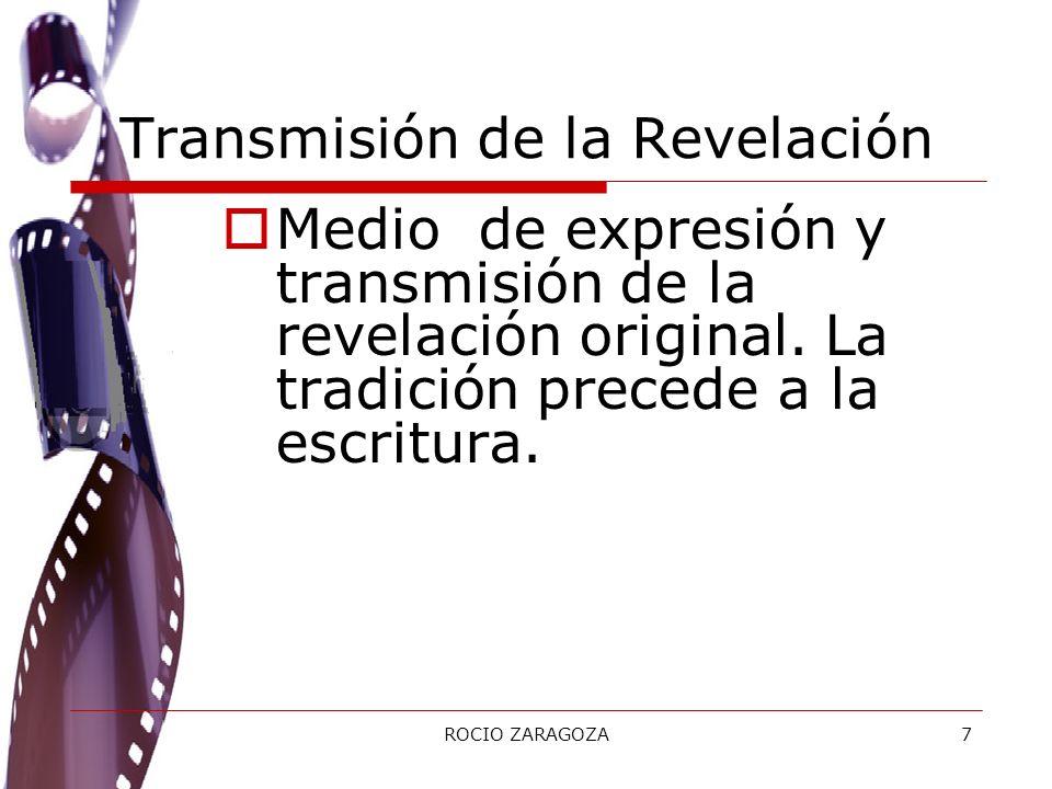 Transmisión de la Revelación