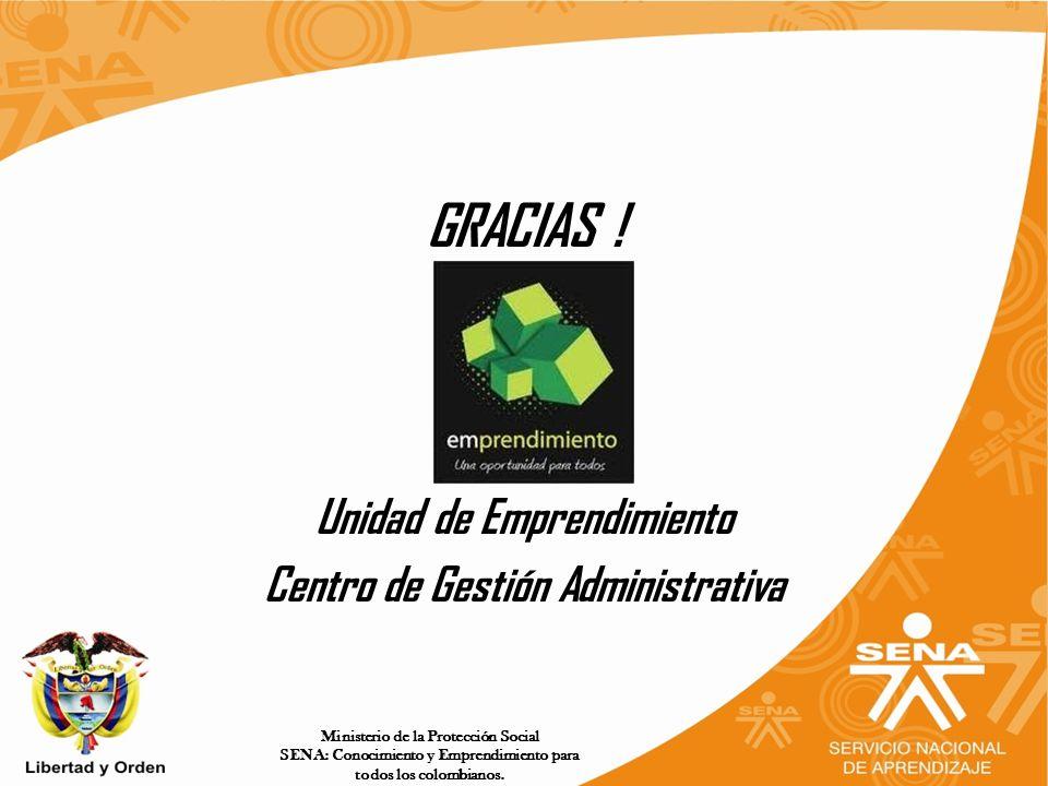 Unidad de Emprendimiento Centro de Gestión Administrativa