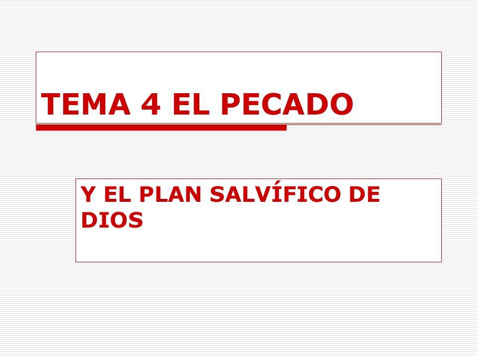 Y EL PLAN SALVÍFICO DE DIOS