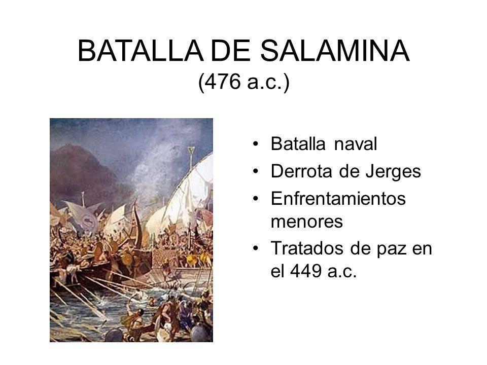 BATALLA DE SALAMINA (476 a.c.)
