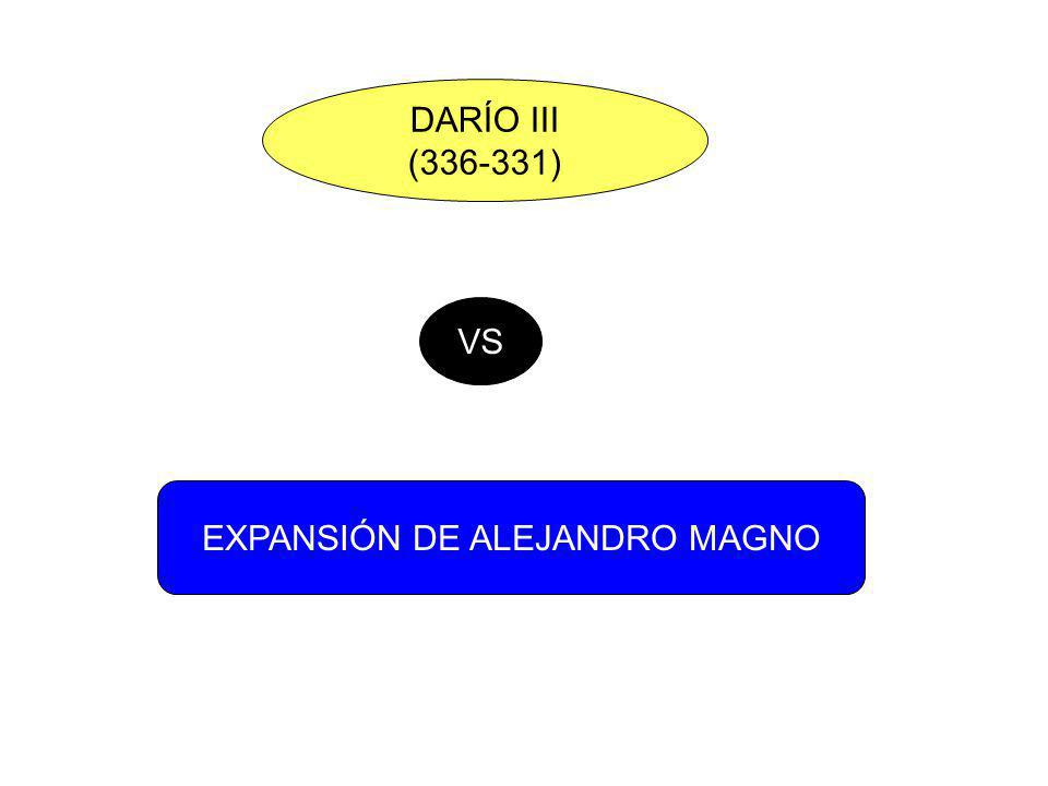 EXPANSIÓN DE ALEJANDRO MAGNO