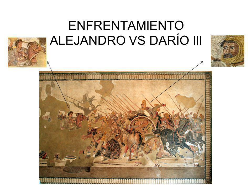 ENFRENTAMIENTO ALEJANDRO VS DARÍO III