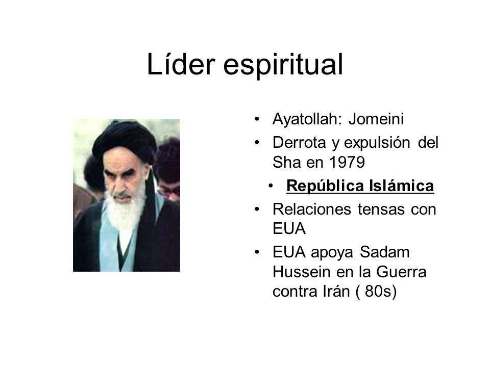 Líder espiritual Ayatollah: Jomeini