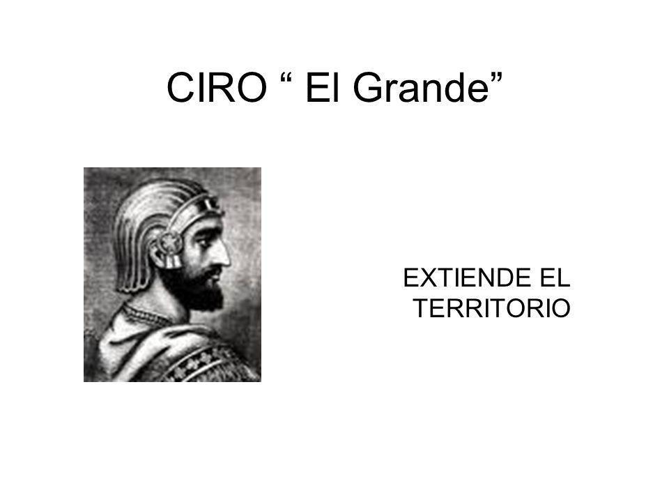 EXTIENDE EL TERRITORIO