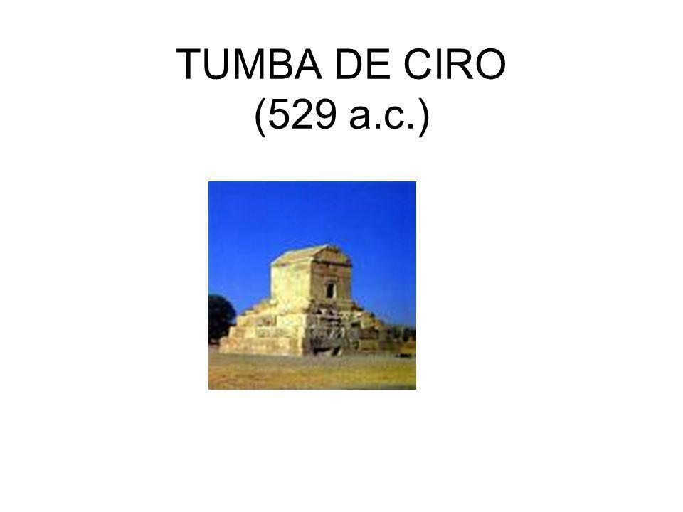 TUMBA DE CIRO (529 a.c.)