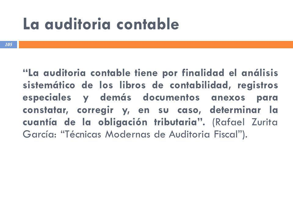 La auditoria contable