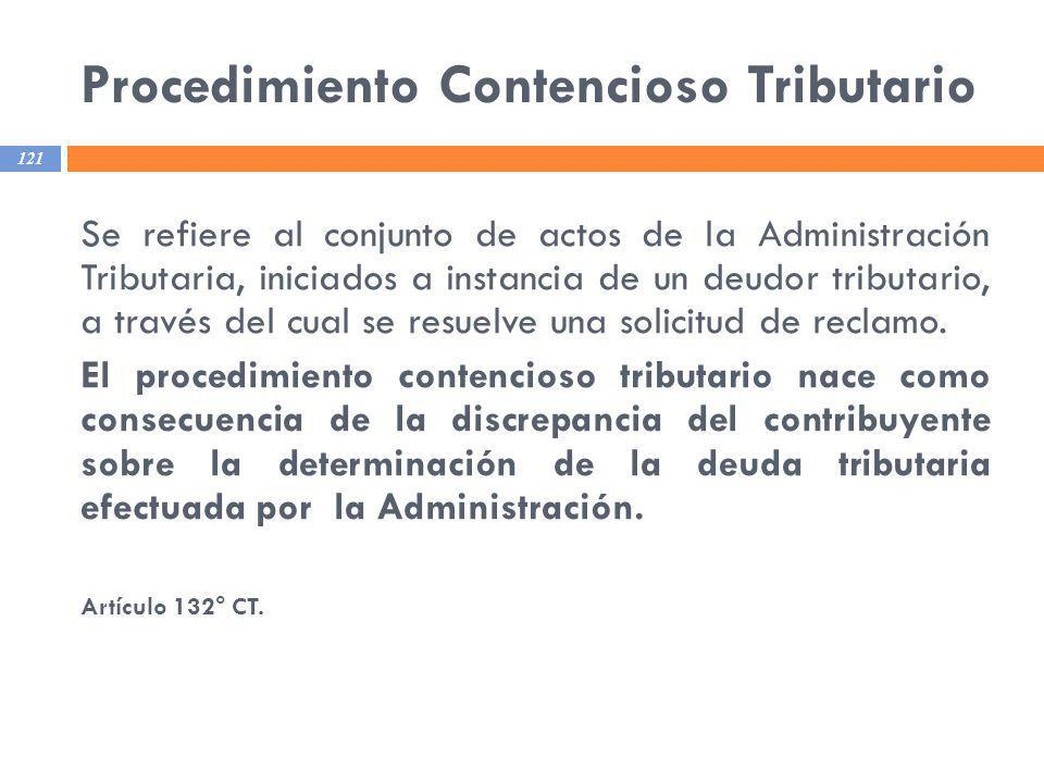 Procedimiento Contencioso Tributario