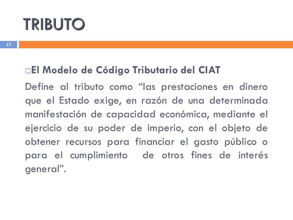 TRIBUTO El Modelo de Código Tributario del CIAT