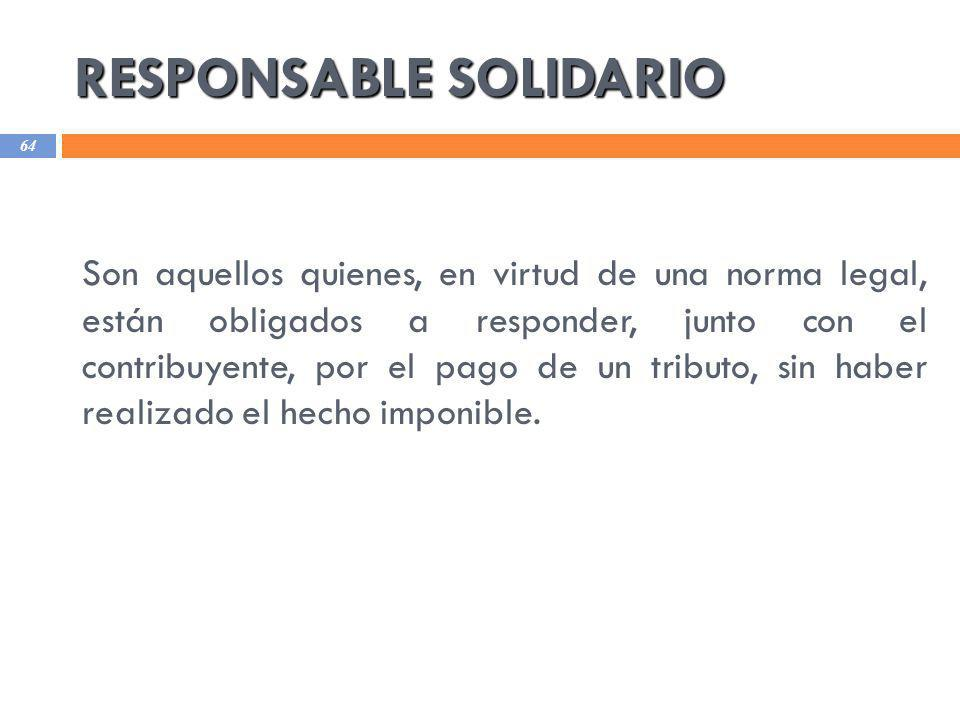 RESPONSABLE SOLIDARIO
