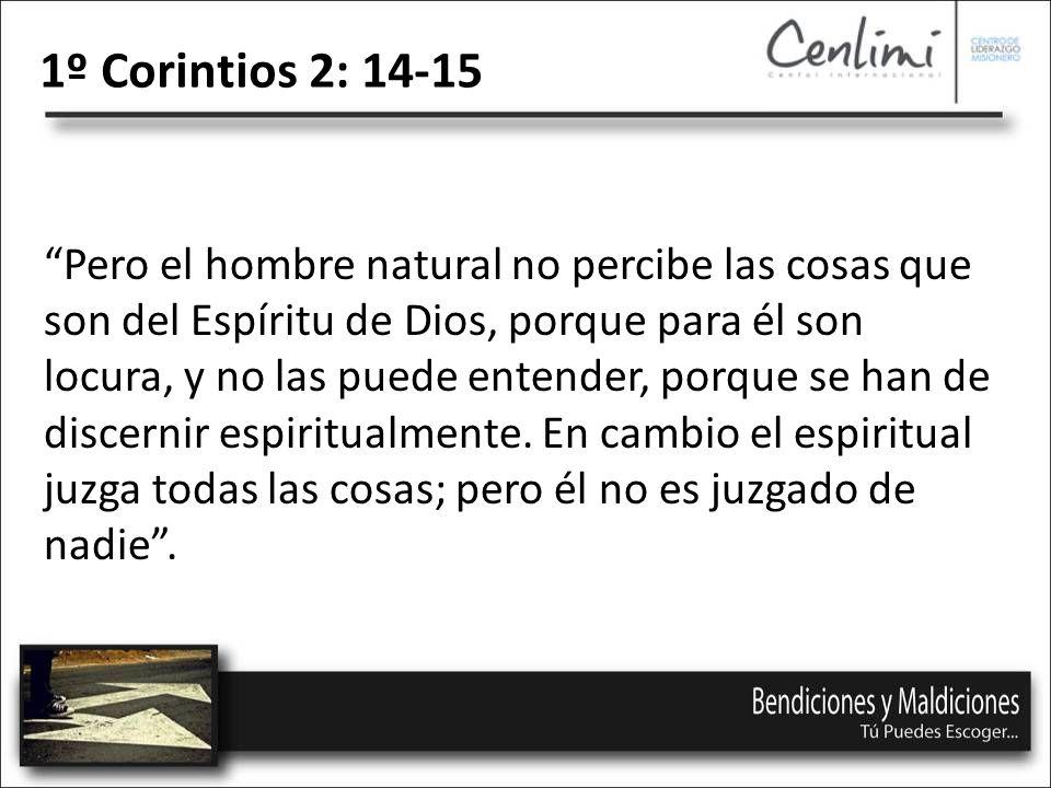 1º Corintios 2: 14-15