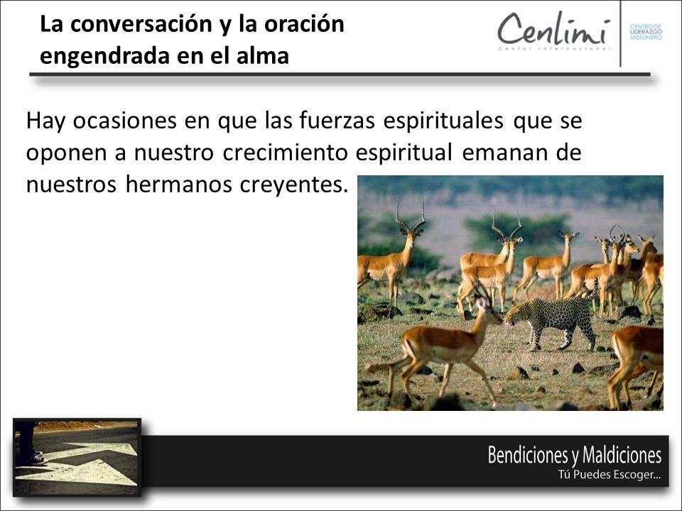 La conversación y la oración engendrada en el alma