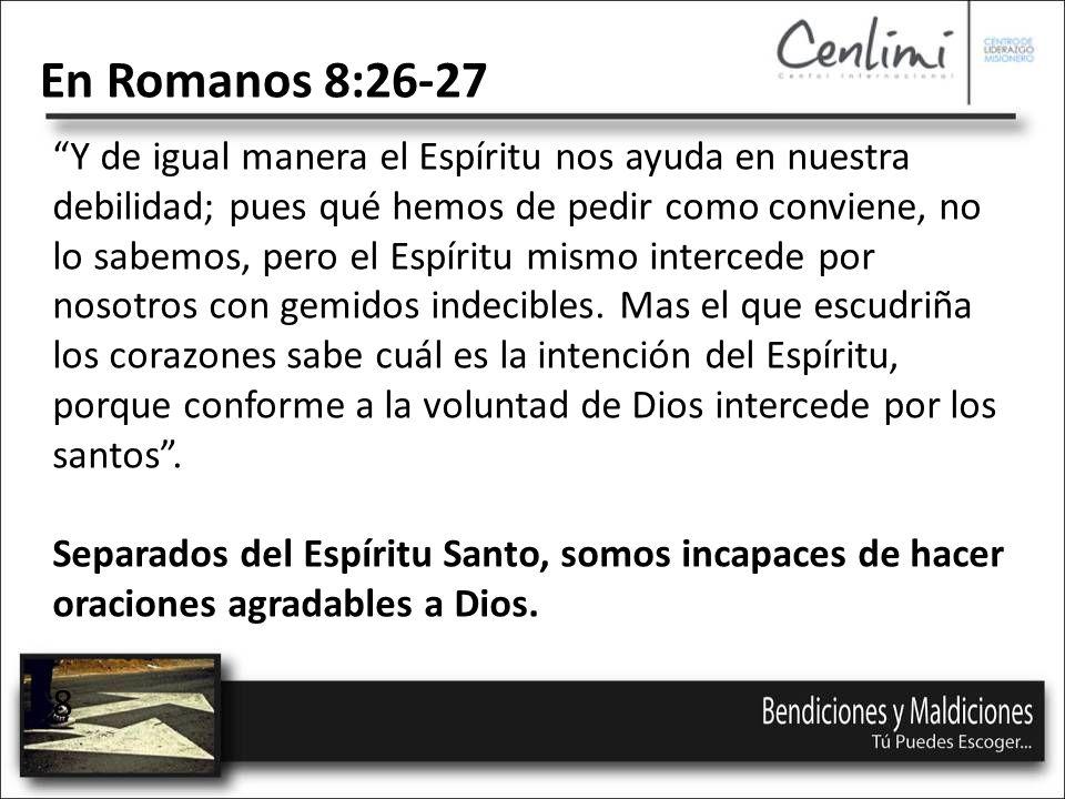 En Romanos 8:26-27