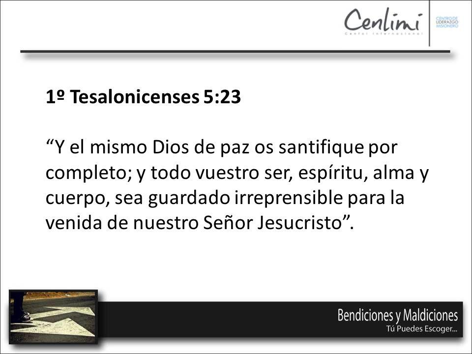 1º Tesalonicenses 5:23