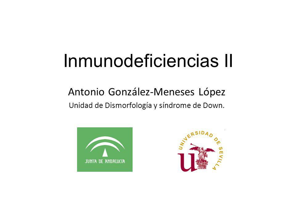 Inmunodeficiencias II