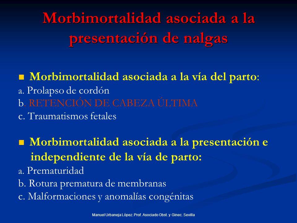 Morbimortalidad asociada a la presentación de nalgas