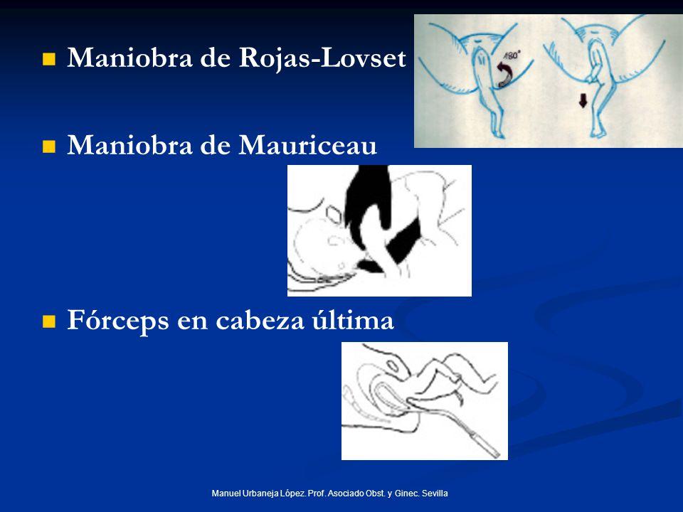 Manuel Urbaneja López. Prof. Asociado Obst. y Ginec. Sevilla