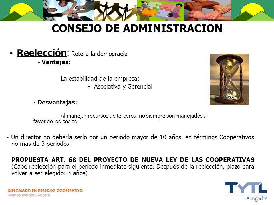 CONSEJO DE ADMINISTRACION