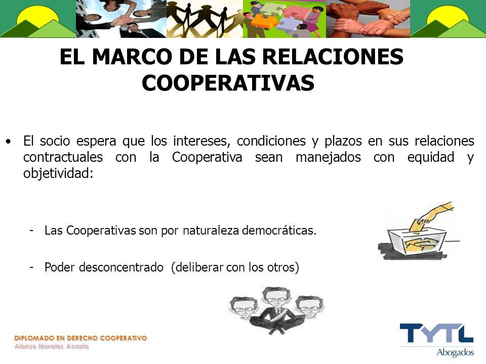 EL MARCO DE LAS RELACIONES COOPERATIVAS