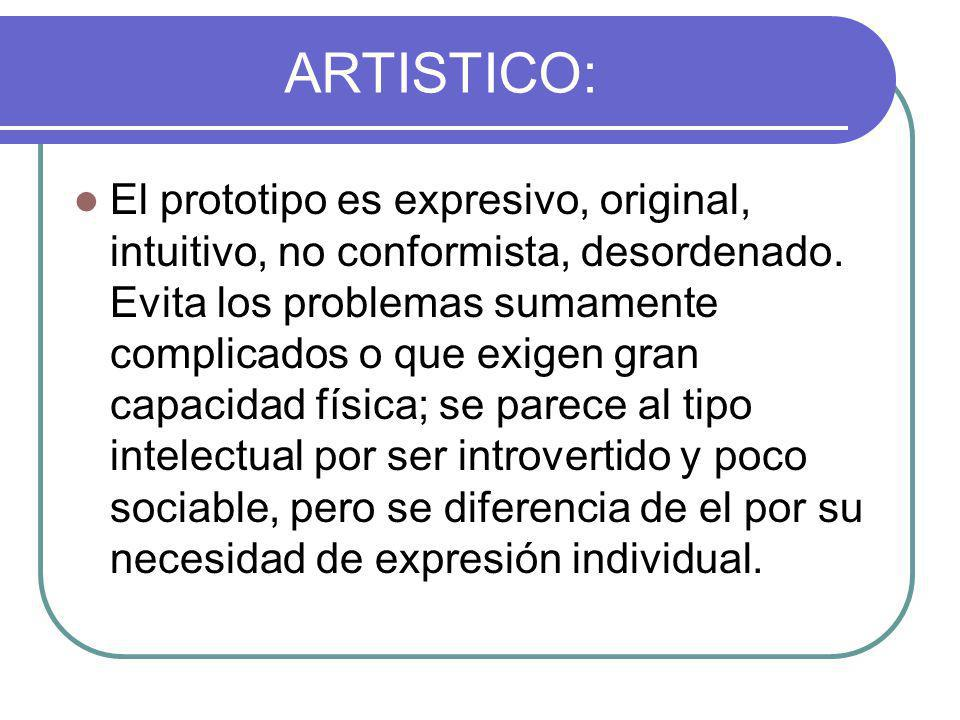 ARTISTICO: