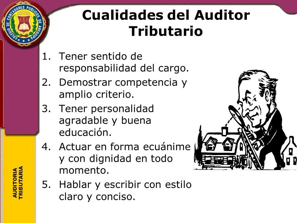 Cualidades del Auditor Tributario