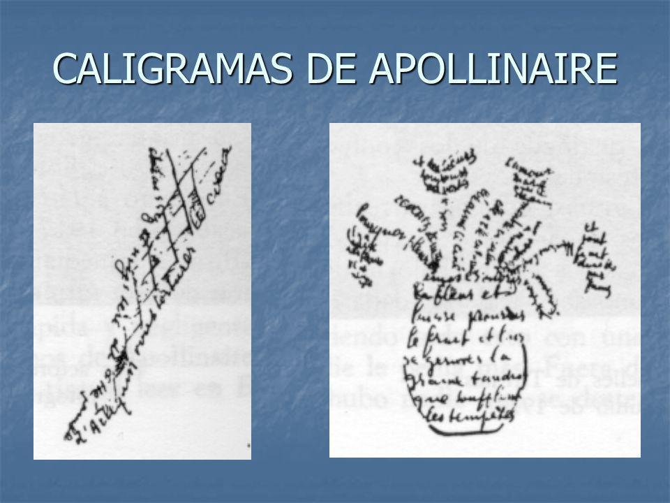 CALIGRAMAS DE APOLLINAIRE