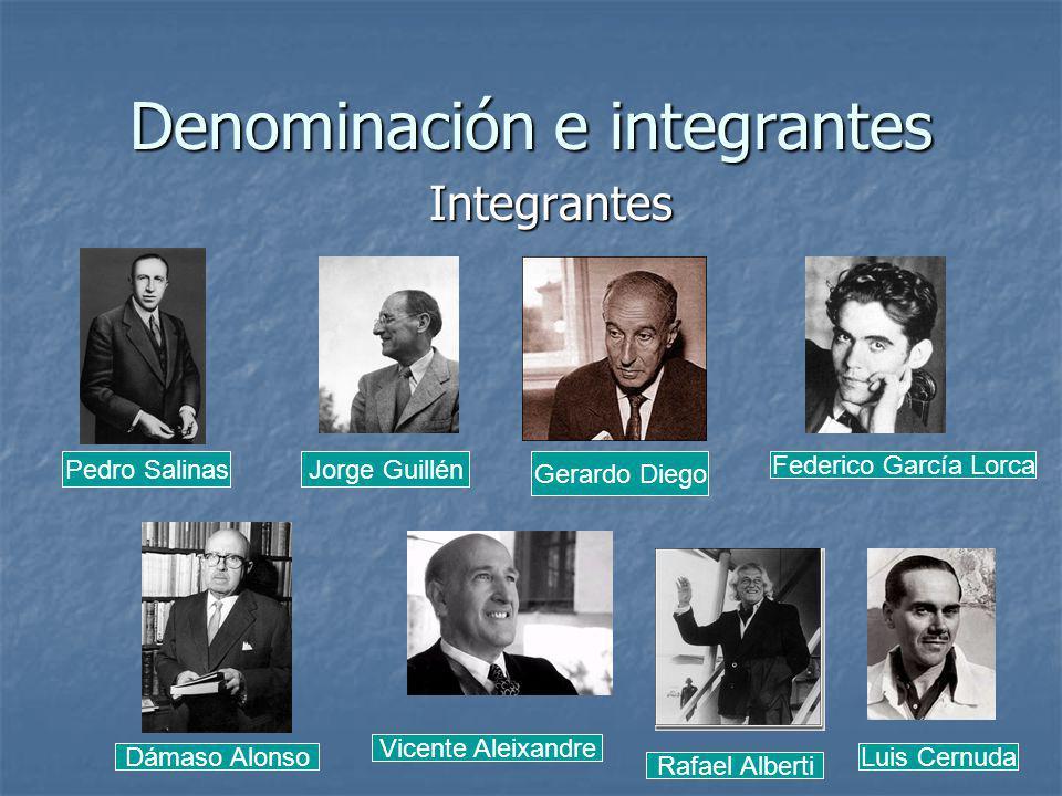 Denominación e integrantes