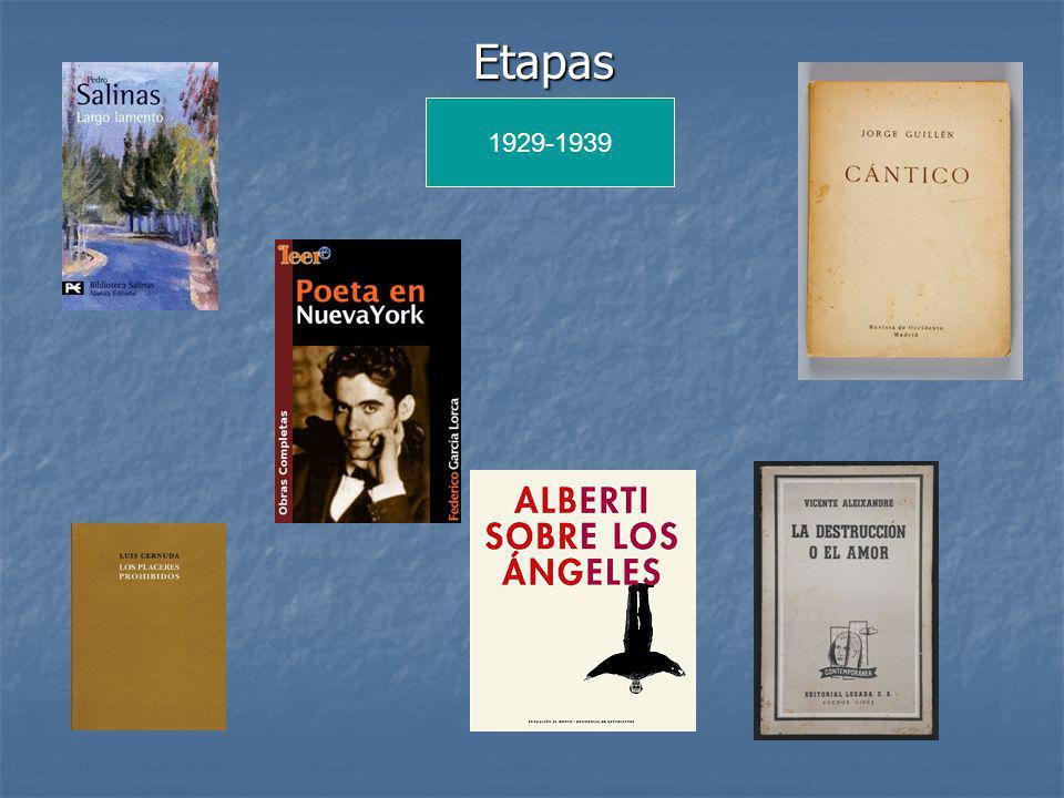 Etapas 1929-1939