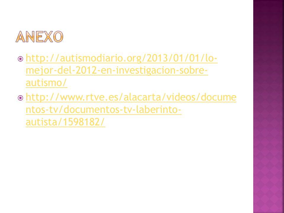 ANEXO http://autismodiario.org/2013/01/01/lo- mejor-del-2012-en-investigacion-sobre- autismo/