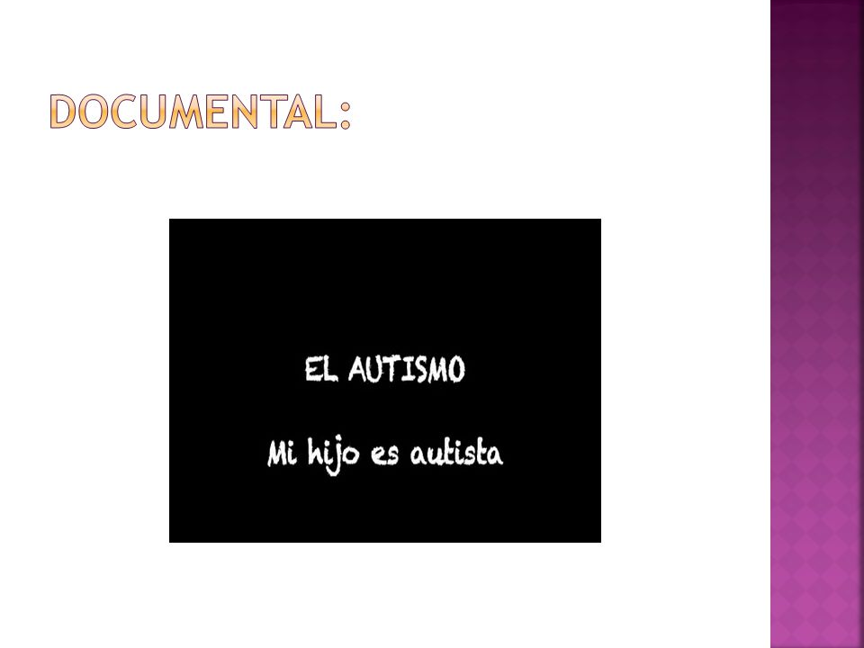 DOCUMENTAL: