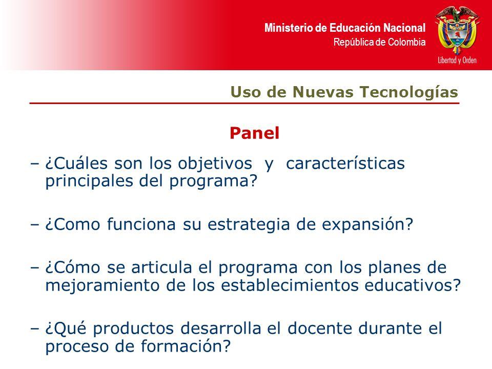 ¿Cuáles son los objetivos y características principales del programa