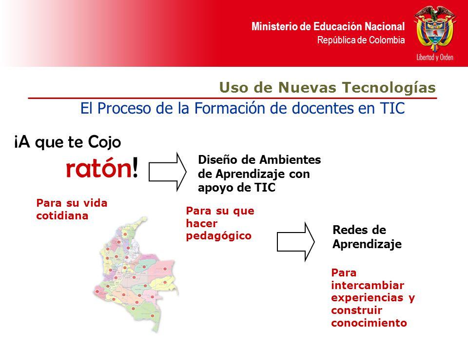 ratón! ¡A que te Cojo El Proceso de la Formación de docentes en TIC