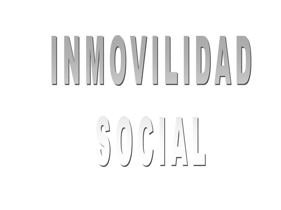 INMOVILIDAD SOCIAL