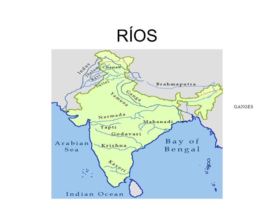 RÍOS GANGES INDO (Sindhu)