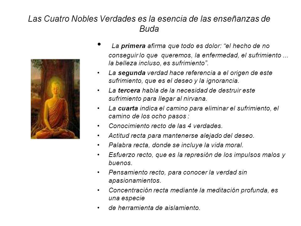 Las Cuatro Nobles Verdades es la esencia de las enseñanzas de Buda