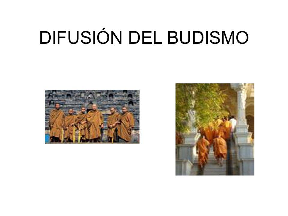 DIFUSIÓN DEL BUDISMO
