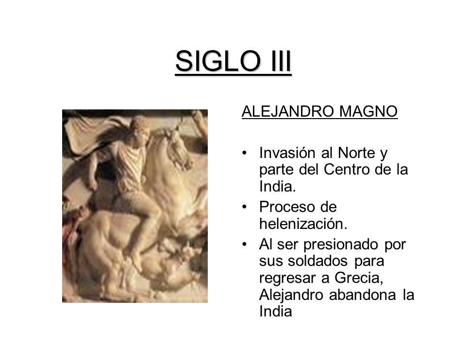 SIGLO III ALEJANDRO MAGNO