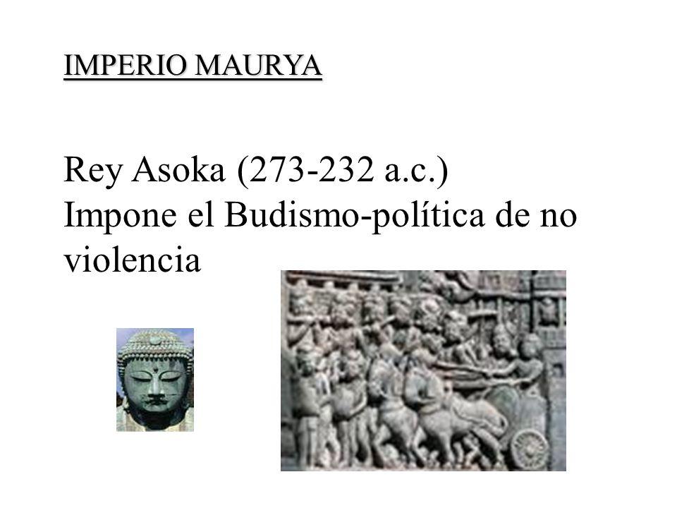 Impone el Budismo-política de no violencia