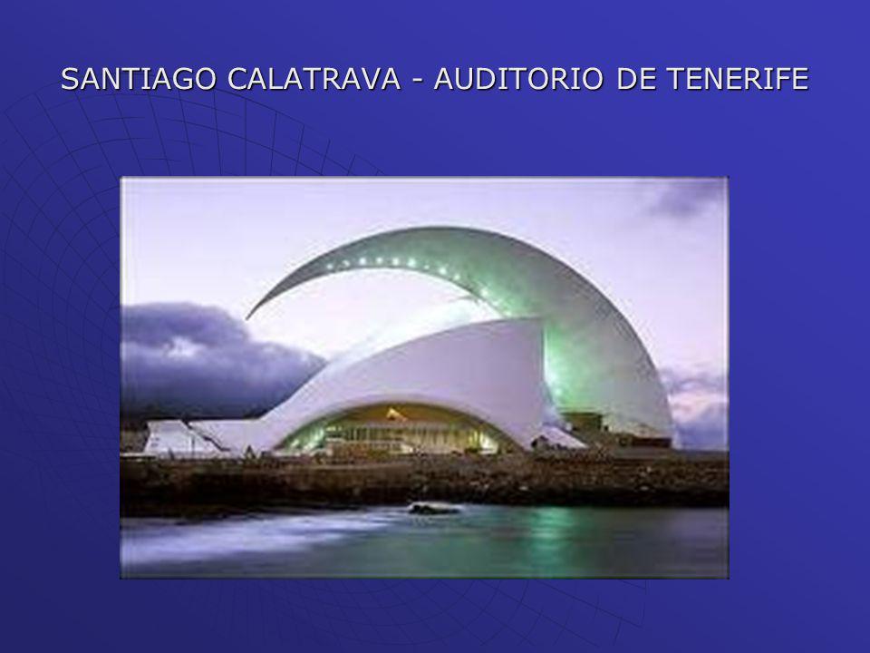 SANTIAGO CALATRAVA - AUDITORIO DE TENERIFE