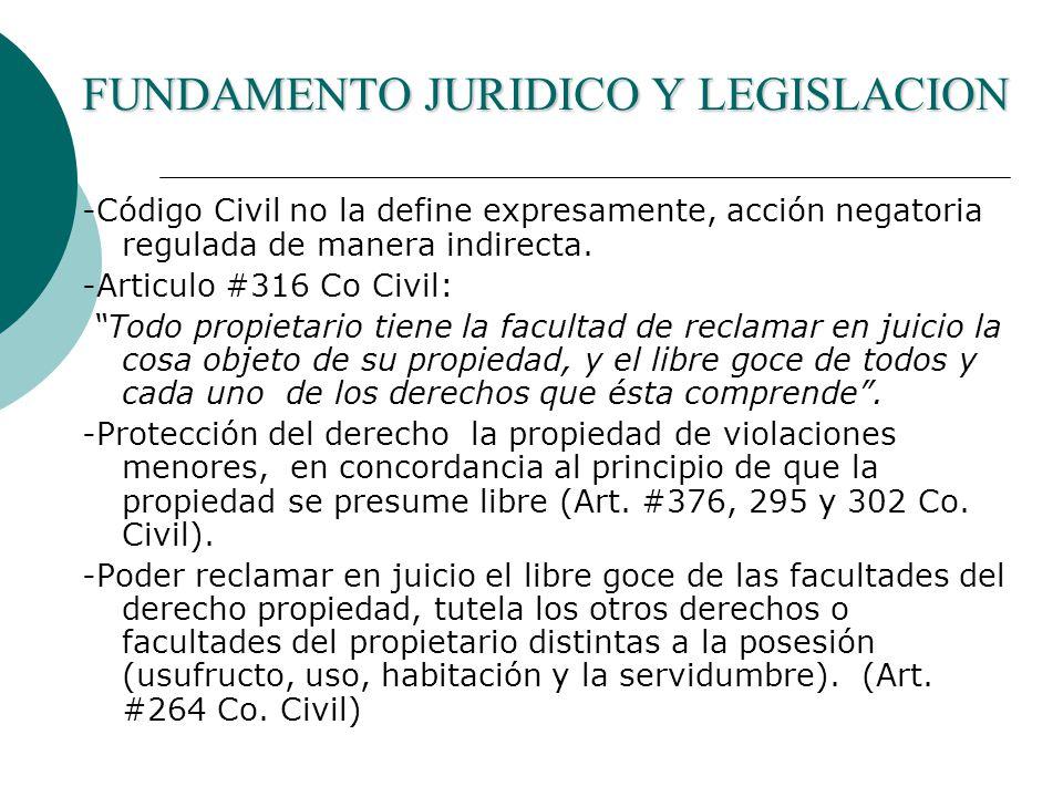 FUNDAMENTO JURIDICO Y LEGISLACION