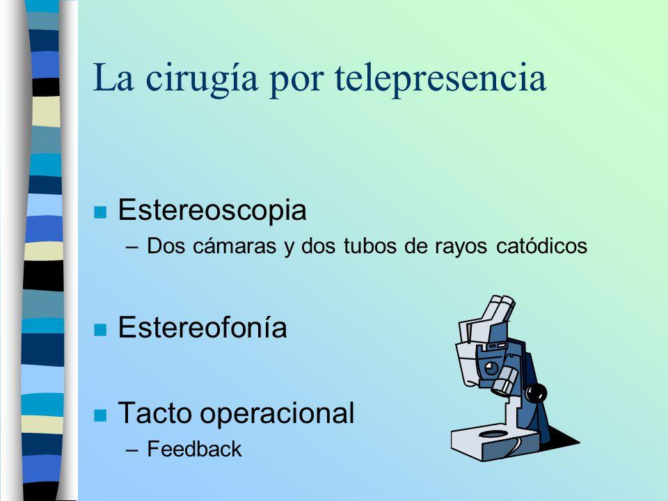 La cirugía por telepresencia