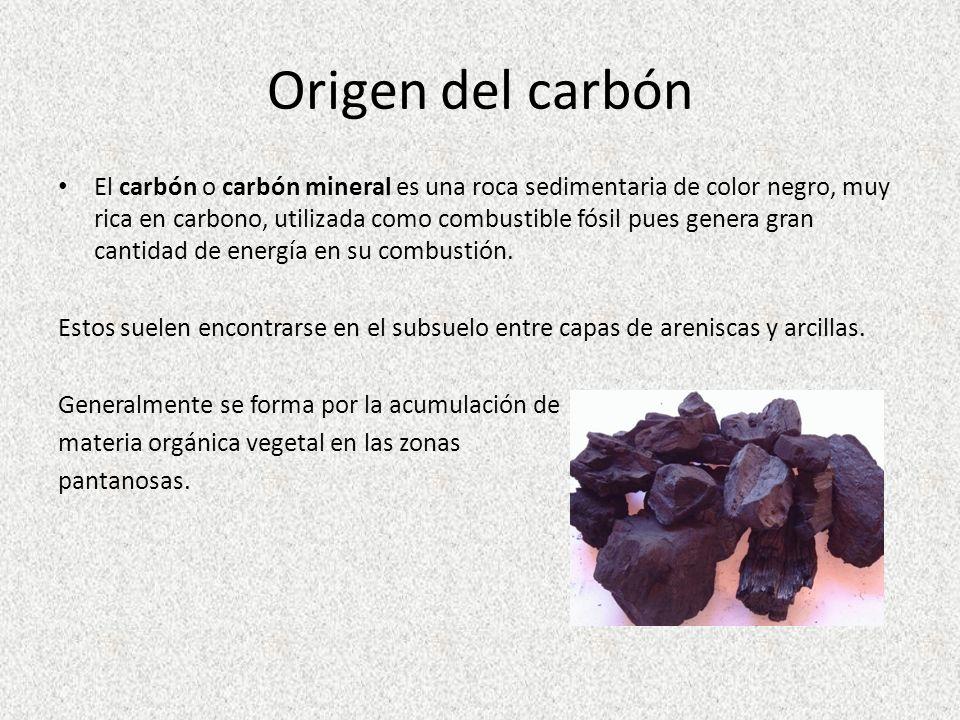 Origen del carbón