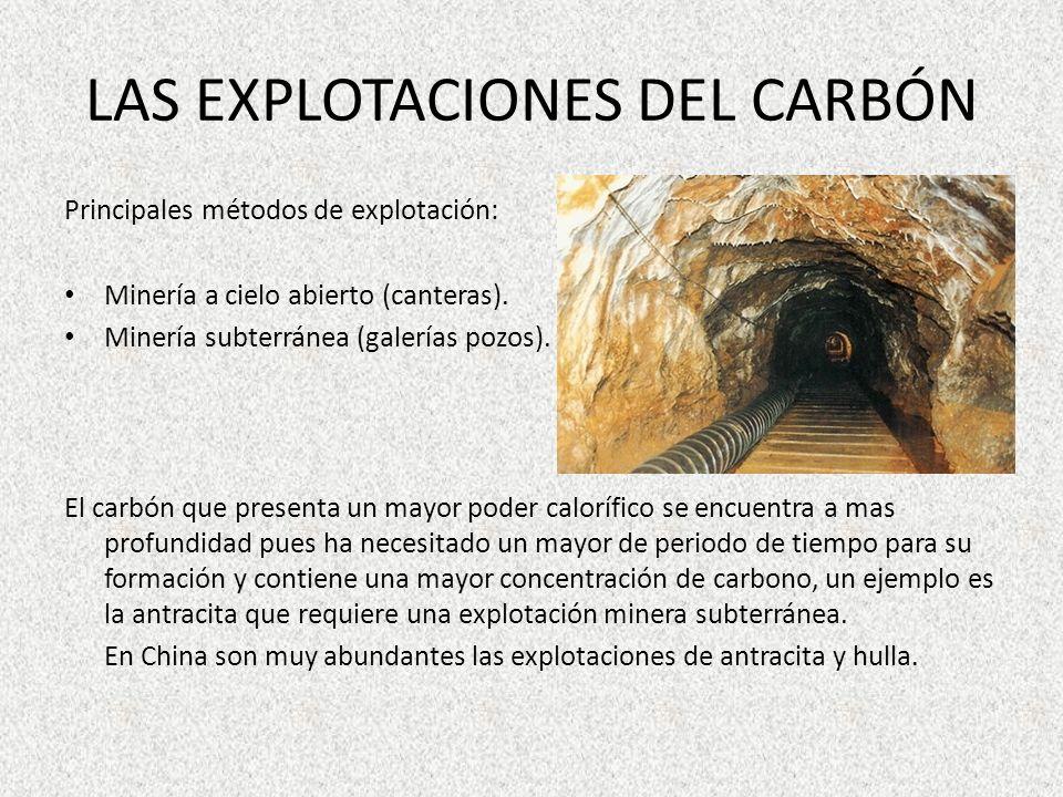 LAS EXPLOTACIONES DEL CARBÓN
