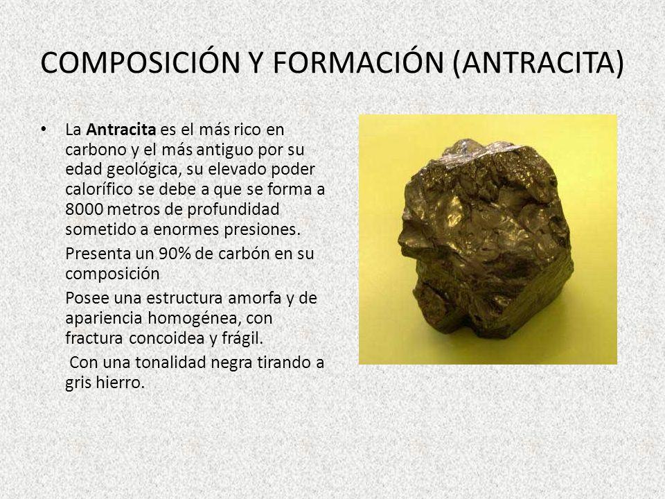 COMPOSICIÓN Y FORMACIÓN (ANTRACITA)