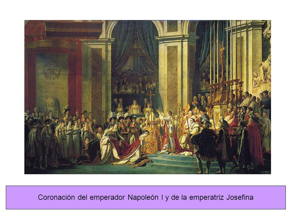 Coronación del emperador Napoleón I y de la emperatriz Josefina
